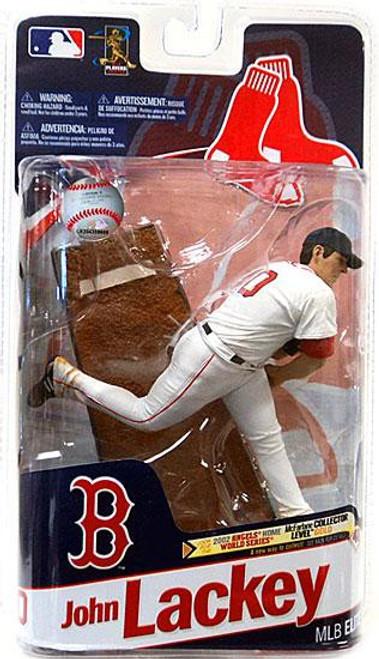 McFarlane Toys MLB Boston Red Sox Sports Picks 2011 Elite Series John Lackey Action Figure [No Patch]