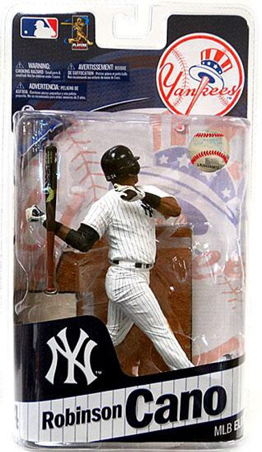 McFarlane Toys MLB New York Yankees Sports Picks 2011 Elite Series Robinson Cano Action Figure