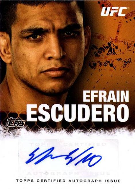 UFC 2010 Championship Efrain Escudero Autograph Card FA-EE