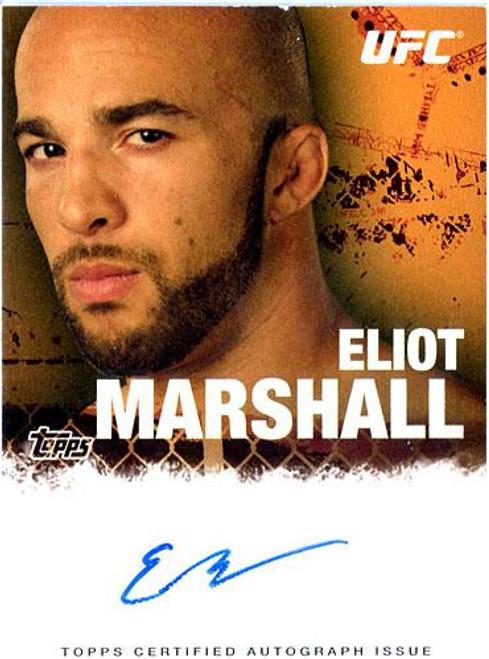UFC 2010 Championship Elliot Marshal Autograph Card FA-EM
