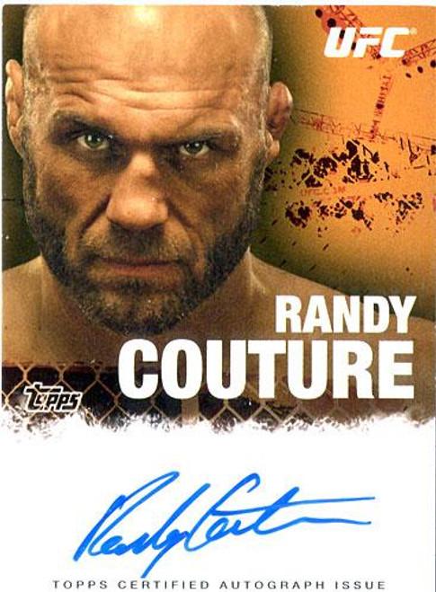 UFC 2010 Championship Randy Couture Autograph Card FA-RC