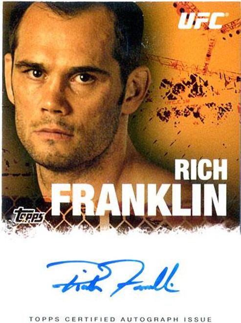 UFC 2010 Championship Rich Franklin Autograph Card FA-RF