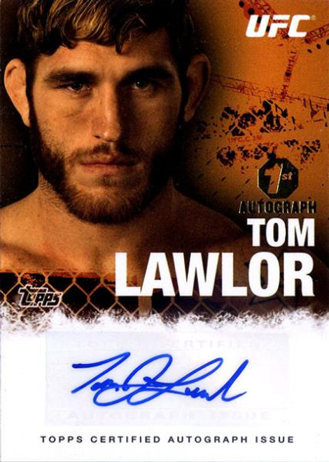 UFC 2010 Championship Tom Lawlor Autograph Card FA-TL