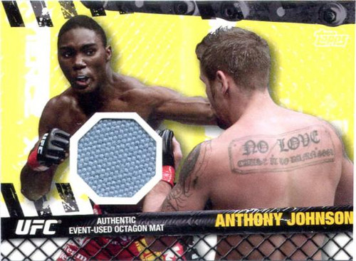 UFC 2010 Championship Fight Mat Relic Anthony Johnson FM-AJ