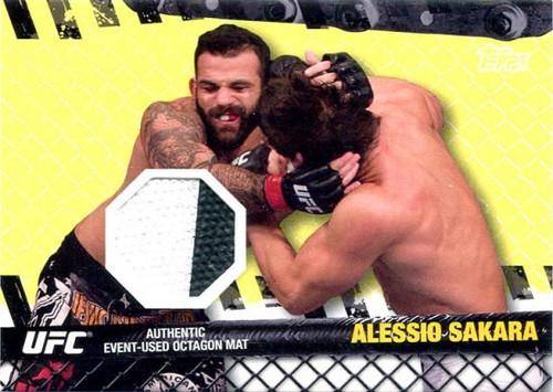 UFC 2010 Championship Fight Mat Relic Alessio Sakara FM-AS [White & Black]