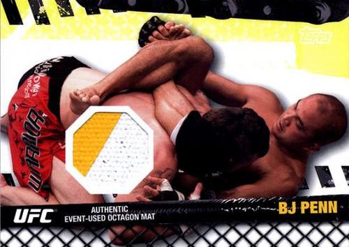 UFC 2010 Championship Fight Mat Relic BJ Penn FM-BP