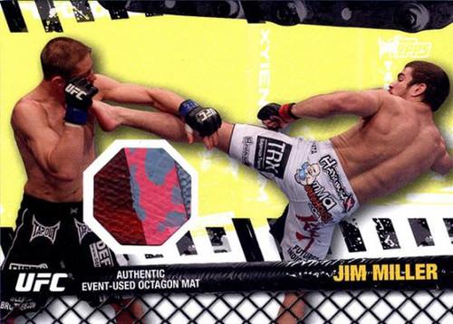 UFC 2010 Championship Fight Mat Relic Jim Miller FM-JM