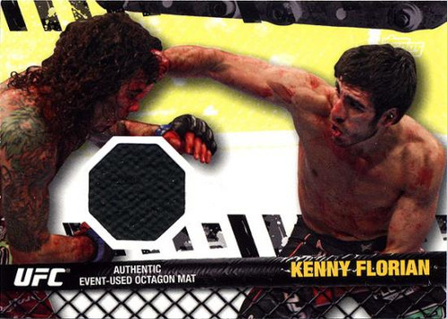 UFC 2010 Championship Fight Mat Relic Kenny Florian FM-KF