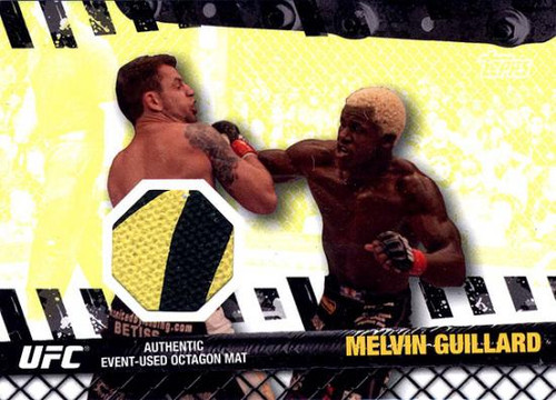 UFC 2010 Championship Fight Mat Relic Melvin Guillard FM-MG [Yellow & Black]