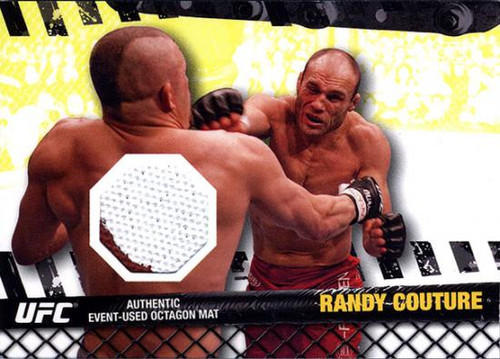 UFC 2010 Championship Fight Mat Relic Randy Couture FM-RC [White & Red]
