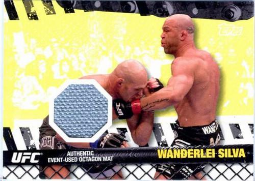 UFC 2010 Championship Fight Mat Relic Wanderlei Silva FM-WS