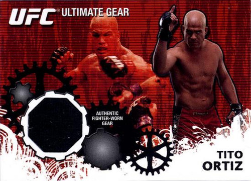UFC 2010 Championship Ultimate Gear Relic Tito Ortiz UG-TO