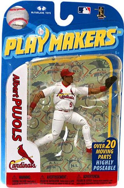 McFarlane Toys MLB St. Louis Cardinals Playmakers Series 2 Albert Pujols Action Figure [Fielding]