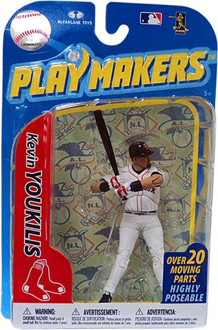 McFarlane Toys MLB Boston Red Sox Playmakers Series 2 Kevin Youkilis Action Figure