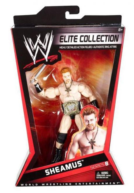 WWE Wrestling Elite Series 8 Sheamus Action Figure