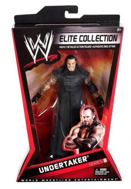 WWE Wrestling Elite Series 8 Undertaker Action Figure