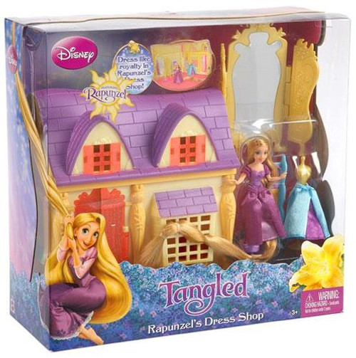 Disney Tangled Rapunzel's Dress Shop Playset
