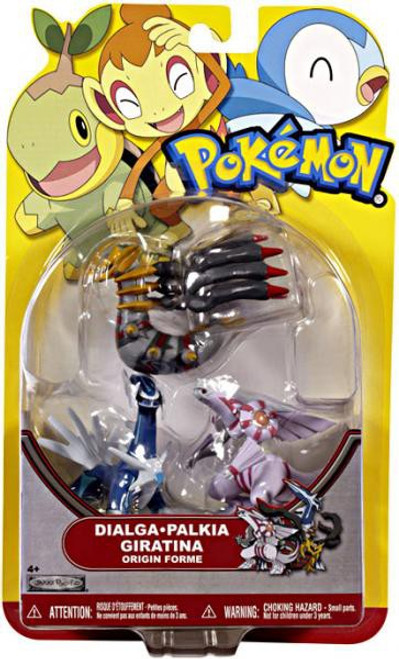 Pokemon HeartGold & Soulsilver Series 18 Dialga, Palkia & Giratina [Origin Forme] Figure 3-Pack