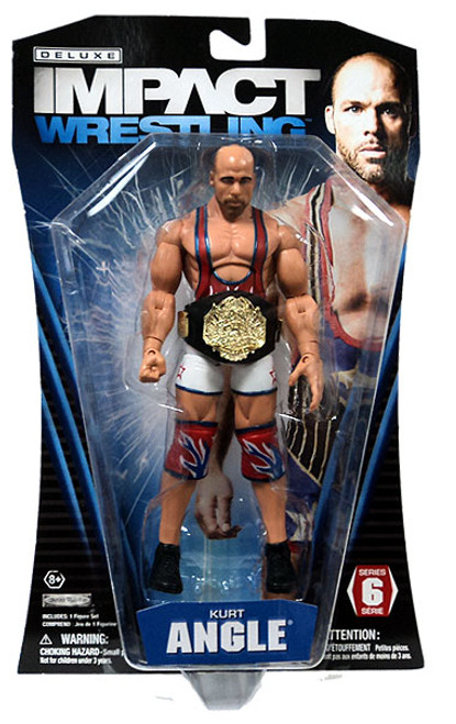 TNA Wrestling Deluxe Impact Series 6 Kurt Angle Action Figure