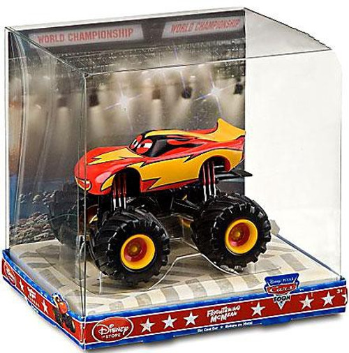 Disney Cars Cars Toon 1:43 Monster Trucks Frightening McMean Exclusive Diecast Car
