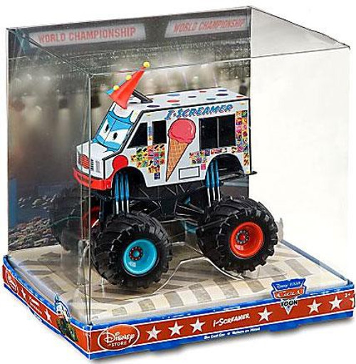 Disney Cars Cars Toon 1:43 Monster Trucks I-Screamer Exclusive Diecast Car
