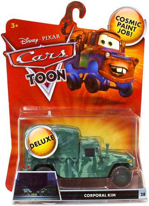 Disney Cars Cars Toon Deluxe Oversized Corporal Kim Diecast Car