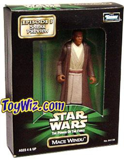 Star Wars The Phantom Menace Power of the Force POTF2 Kenner Collection Mace Windu Exclusive Action Figure
