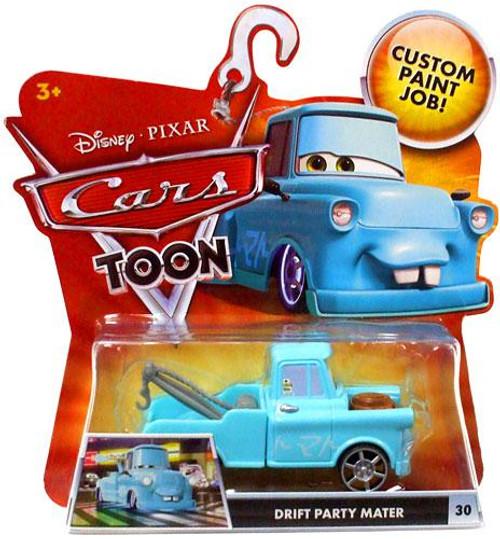 Disney Cars Cars Toon Main Series Drift Party Mater Diecast Car #30