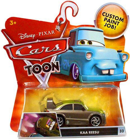 Disney Cars Cars Toon Main Series Kaa Reesu Diecast Car #33