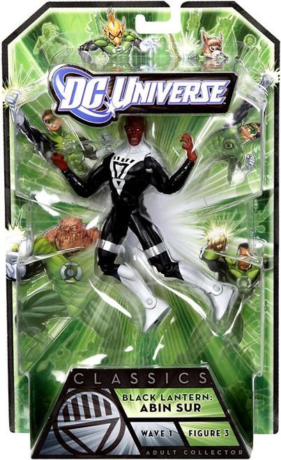 DC Universe Green Lantern Classics Series 1 Abin Sur Action Figure [Black Lantern]
