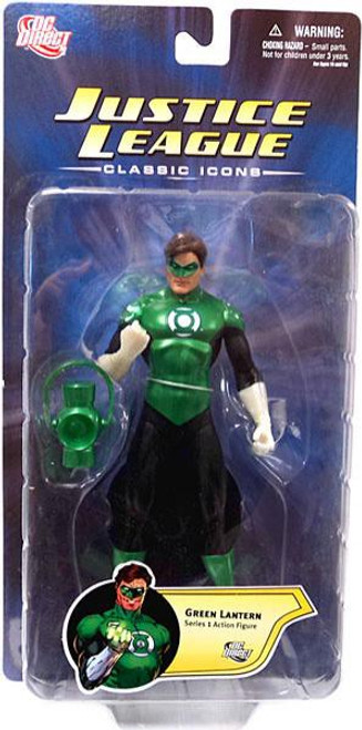 DC Justice League Classic Icons Series 1 Green Lantern Action Figure [Hal Jordan]