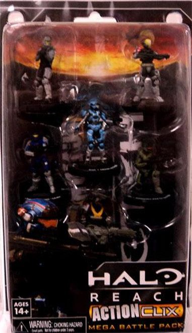 NECA Halo Reach ActionClix Noble Team