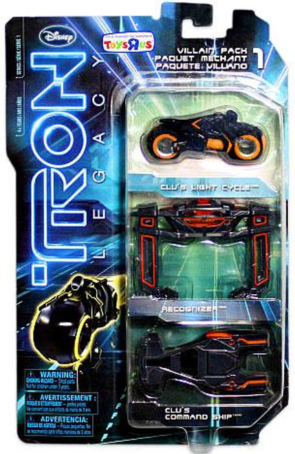 Tron Legacy Villain Exclusive Diecast Vehicle 3-Pack