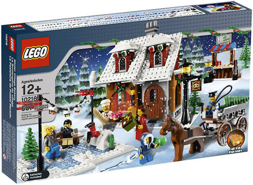 LEGO Christmas Winter Village Winter Village Bakery Exclusive Set #10216