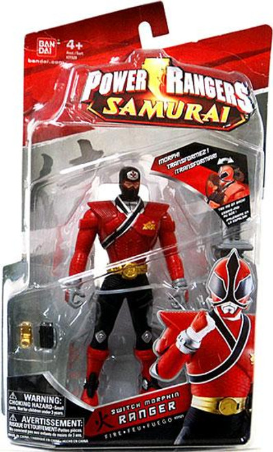 Power Rangers Samurai Switch Morphin Ranger Fire Action Figure