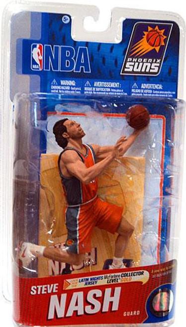 "McFarlane Toys NBA Phoenix Suns Sports Picks Series 19 Steve Nash Action Figure [""PHX"" Jersey]"