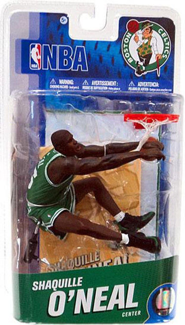 McFarlane Toys NBA Boston Celtics Sports Picks Series 19 Shaquille O' Neal Action Figure
