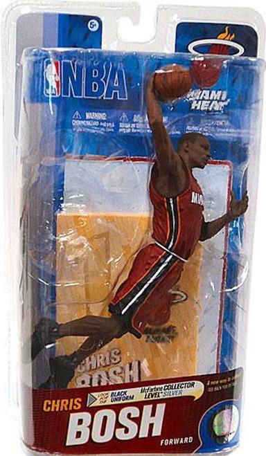 McFarlane Toys NBA Miami Heat Sports Picks Series 19 Chris Bosh Action Figure [Red Jersey]
