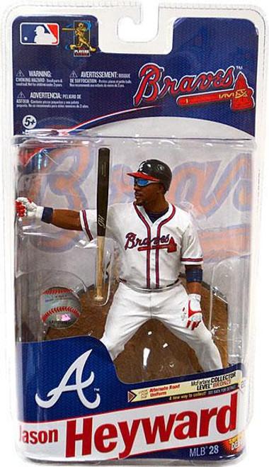 McFarlane Toys MLB Atlanta Braves Sports Picks Series 28 Jason Heyward Action Figure [White Jersey]