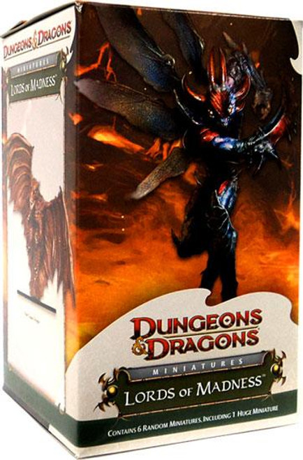 Dungeons & Dragons Trading Miniatures Game Lords of Madness Booster Pack [Huge]