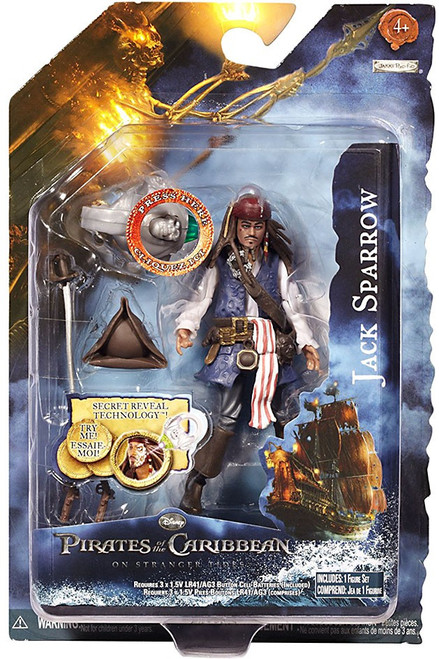 Pirates of the Caribbean On Stranger Tides Series 1 Jack Sparrow Action Figure