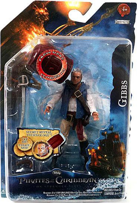 Pirates of the Caribbean On Stranger Tides Series 1 4-Inch Gibbs Action Figure