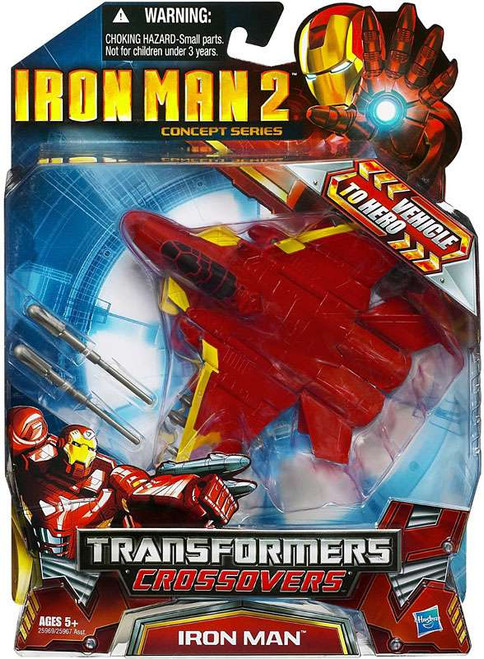 Transformers Crossovers Iron Man Action Figure [Fighter Jet]