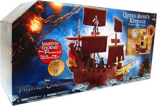 Pirates of the Caribbean On Stranger Tides Queen Anne's Revenge Playset