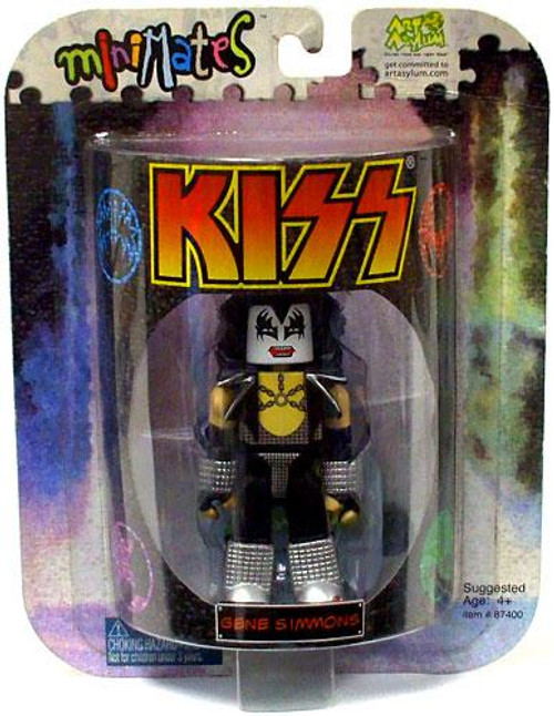 Kiss Art Asylum MiniMates Gene Simmons Minifigure