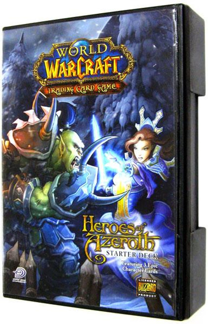 World of Warcraft Trading Card Game Heroes of Azeroth Starter Deck [Random Class, Open]