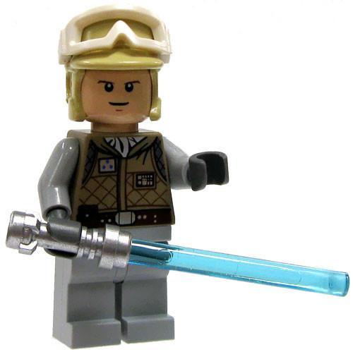 LEGO Star Wars Loose Luke Skywalker Minifigure [Hoth Survival Gear Loose]