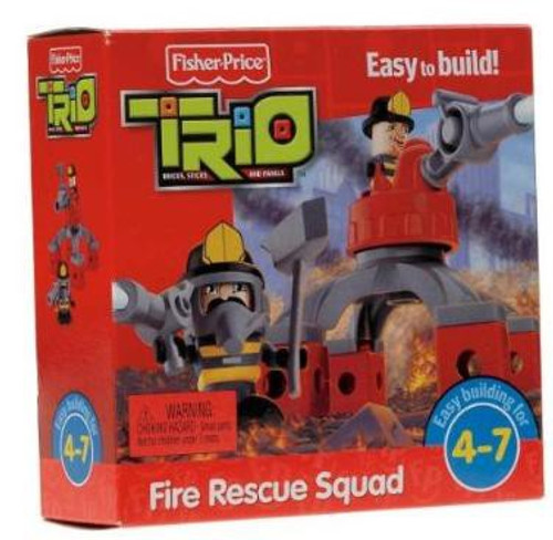 Fisher Price TRIO Fire Rescue Squad Playset