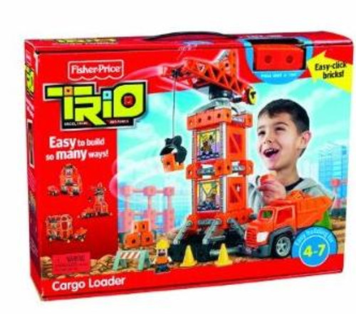 Fisher Price TRIO Cargo Loader Playset