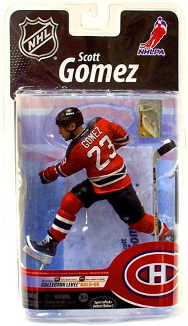 McFarlane Toys NHL New Jersey Devils Sports Picks Series 25 Scott Gomez Exclusive Action Figure